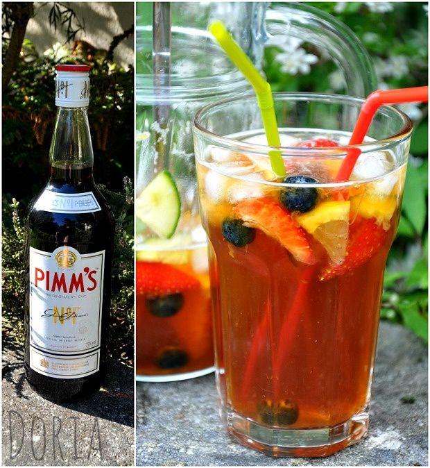 """J'ai dégusté sur Londres et Brighton, une boisson que les anglais appellent le """"Pimm's"""". C'est délicieux et bien rafraîchissant. Comme on était plusieurs, on a commandé cette boisson en pichet (cela revient moins cher qu'au verre). C'est une boisson très..."""