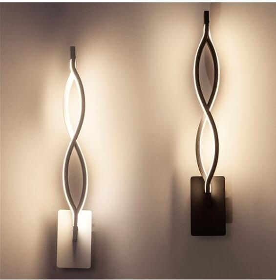 Modern Lustre Minimalist Led Wall Light Indoor 16w Wall Sconce Fixture For Bedroom Living Room 16w Ac85 265v Led Wall Lamp Wandlamp Wish Indoor Wall Sconces Indoor Wall Lights Modern Wall