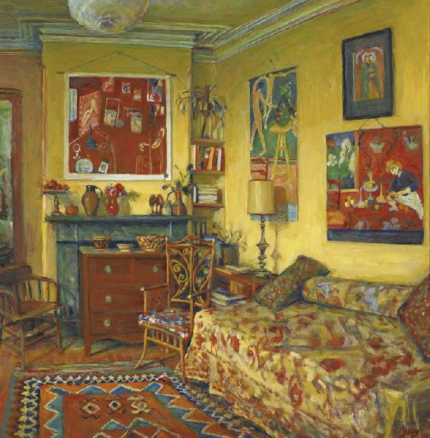 The Yellow Room, Margaret Olley
