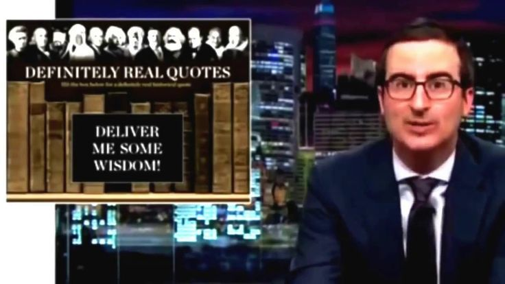 John Oliver - Wendy Williams Quotations Made Me a Better Person | Last W...