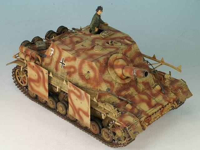 Sturmpanzer IV Brummbär Ausf. H von Matthias Andrezejewsky (1:35 Tamiya)