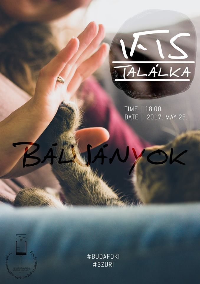 Event flyer, youth club, christian, cat, friendship, poster