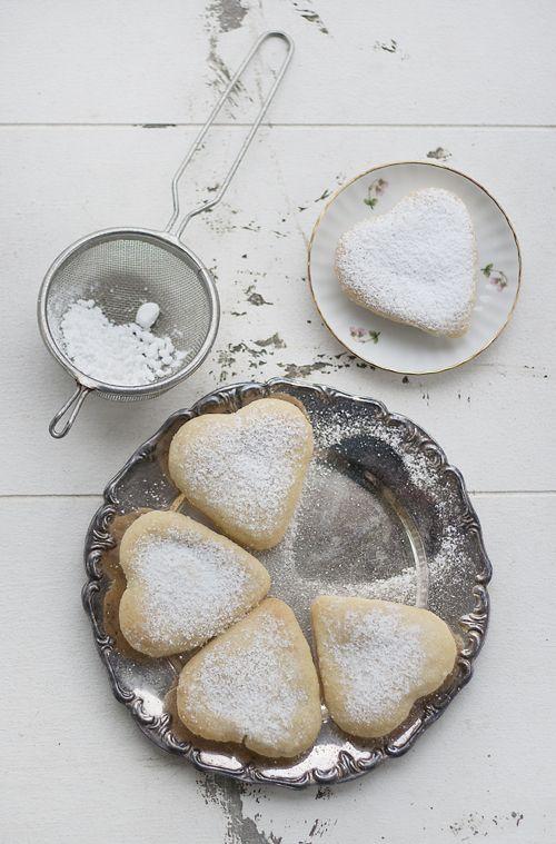 Vanilla Heart Cookies for my Valentine's