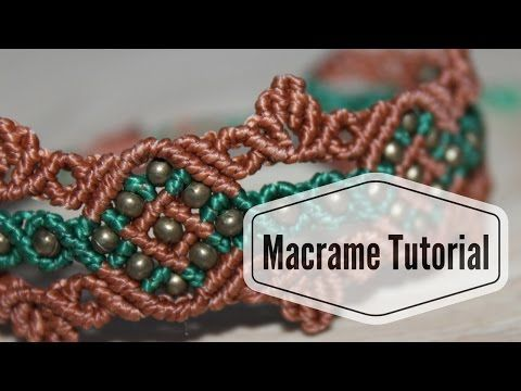 macrame leaf pattern instructions