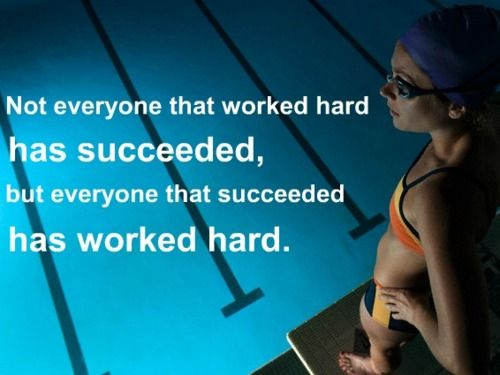 swim.Sports Quotes, Work Hard, Keep Swimming, Workout Programs, Motivation Quotes, Whole Body Workout, Swimming Quotes, Inspiration Quotes, Workout Videos