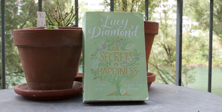 """Because happiness is often found in the smallest things. Book Review of Lucy Diamond's """"The Secrets of Happiness""""."""
