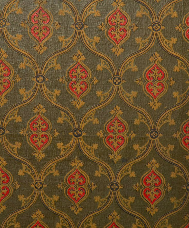 Victorian Wallpapers Group (44 ) 19th century Gothic Revival Homes and  Furnishings