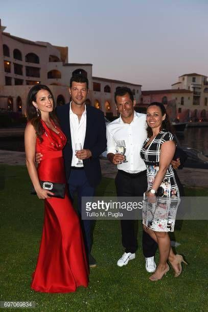 07-01 OLBIA, ITALY - JUNE 17: Michael Ballack, Natacha Tannous,... #olbia: 07-01 OLBIA, ITALY - JUNE 17: Michael Ballack, Natacha… #olbia