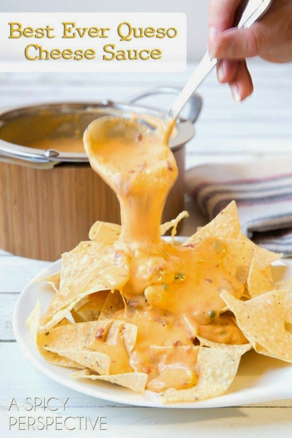 The Best Queso Cheese Sauce - Recipes - Cocktails and Delicious Photo Recipes with Nutrition and Calories