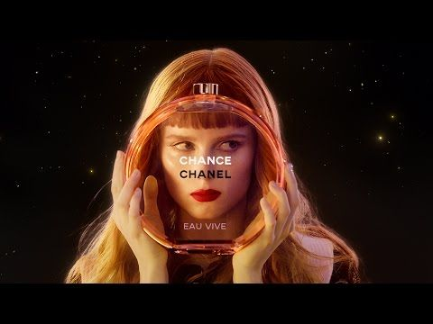 """Chanel: the new """"Chance Eau Vive"""" perfume advertising film, by Jean-Paul Goude 