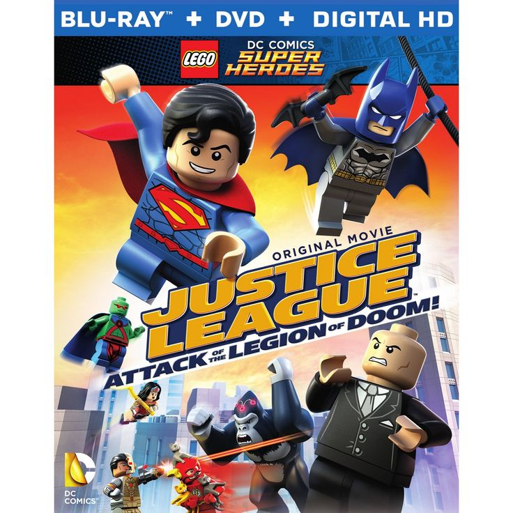 Lego DC Comics Super Heroes: Justice League - Attack of the Legion of Doom (Blu-ray/Dvd)
