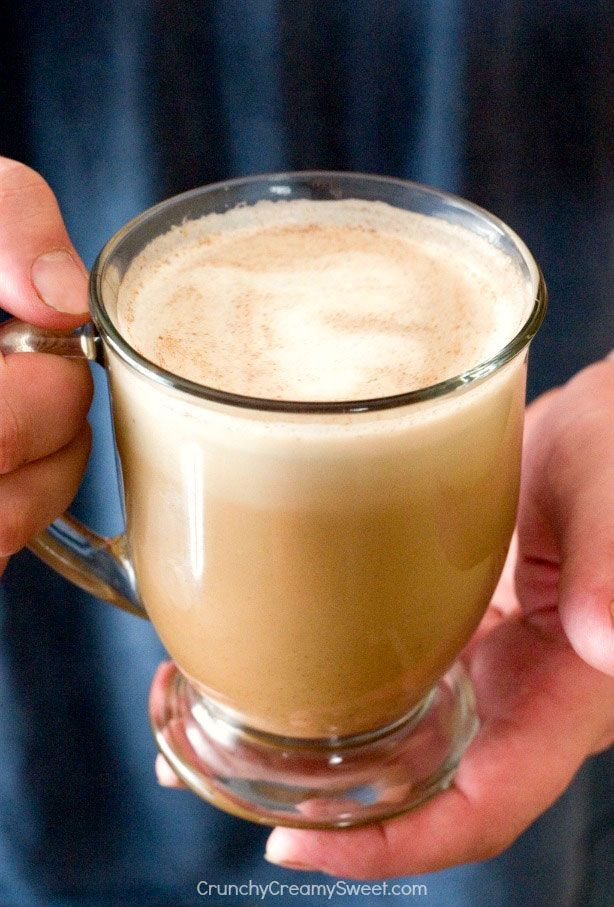 Skinny Pumpkin Spice Latte - your favorite fall drink just got a makeover! Less calories but still delicious!