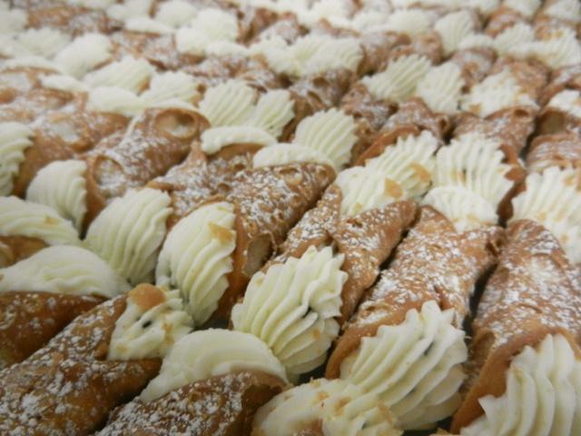 Cake Boss Making Cannolis