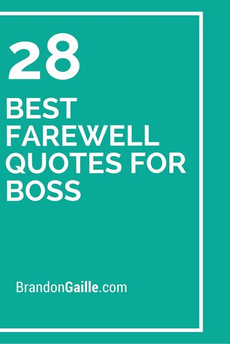 The 25+ best Farewell quotes for boss ideas on Pinterest Quotes - thank you note to boss