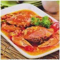 kepiting saus Hongkong