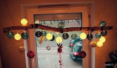 Ozdoba świąteczna - brzoza