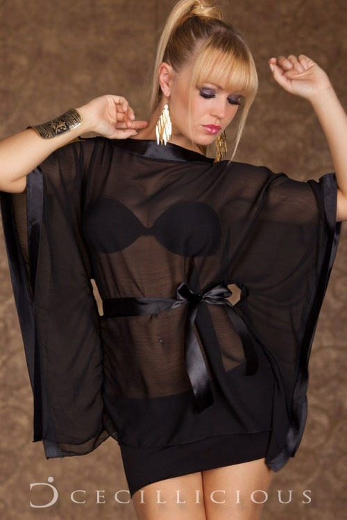 Pre-Order Vinci Chiffon Black Dress online with Cecillicious for only $14.00. Delivery to Australia wide.
