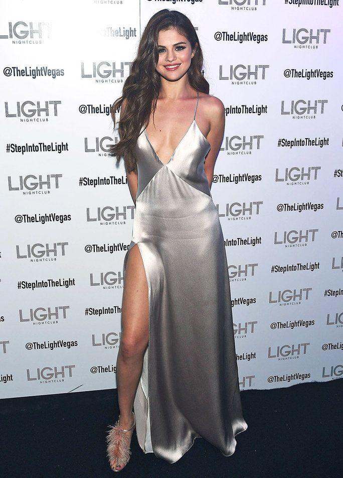 Selena Gomez Stuns in Sultry Slipdress for her <em>Revival</em> Tour Kickoff