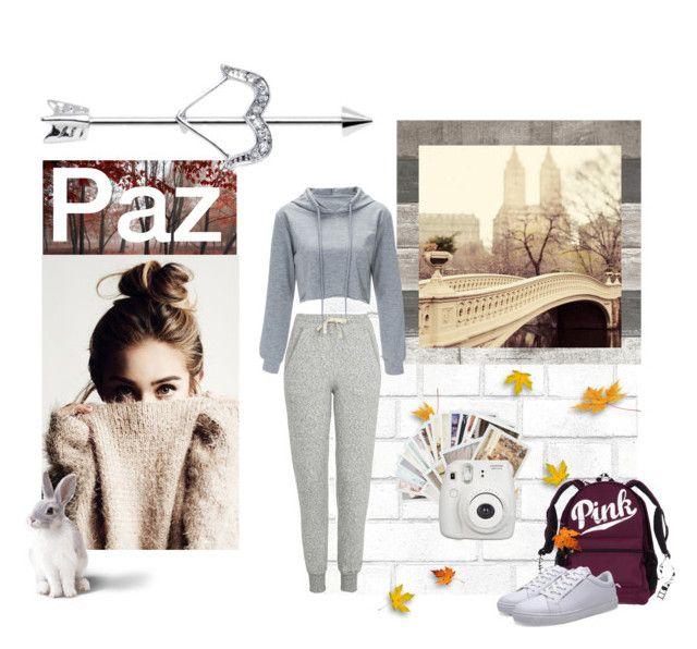 """""""Paz"""" by juliana-lira ❤ liked on Polyvore featuring Tempaper, Topshop, Chronicle Books and Fujifilm"""