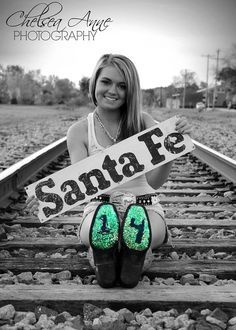 Senior Pictures, Railroad Photography, Train Tracks, Highschool Graduation  2014 www.facebook.