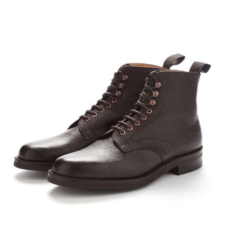 Cheaney The Eden Veldshoen Boots - Walnut Grain Leather