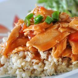 Poitrines de poulet BBQ à la mijoteuse @ http://qc.allrecipes.ca