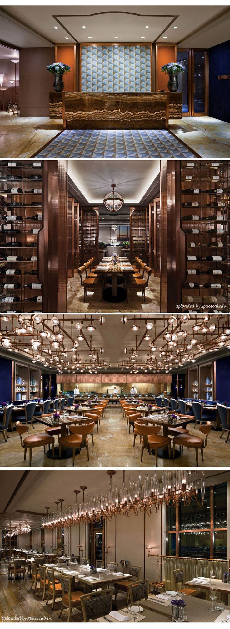 IST TOO, SHANGRI-LA ISTANBUL 2013_Restaurant at the Shangri-la Hotel Istanbul, IST TOO is Designed by Architect Andre Fu of AFSO