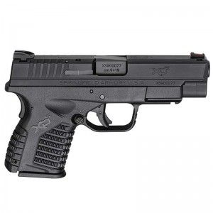 """The new Springfield XDs 9mm in a 4"""" barrel.  Great concealed carry gun."""