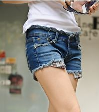 Pantaloncini corti shorts pantaloni bermuda corti donna denim jeans 6078