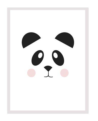roomobaby blog: 10 Adorável Black + White gratuito Cartazes Impressão de um quarto do bebê Modern
