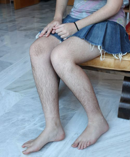 Legs For You Teens Hairy 18