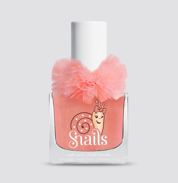 Tutus, Music, Dancing, Ballerinas! All your daughters can now experience the magic of dancing and elegance with this super cute Snails kids nail polish Ballerine edition!