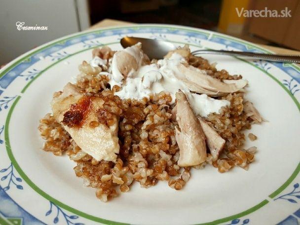 Bulgur pilav s kuracím mäsom (fotorecept) - Recept