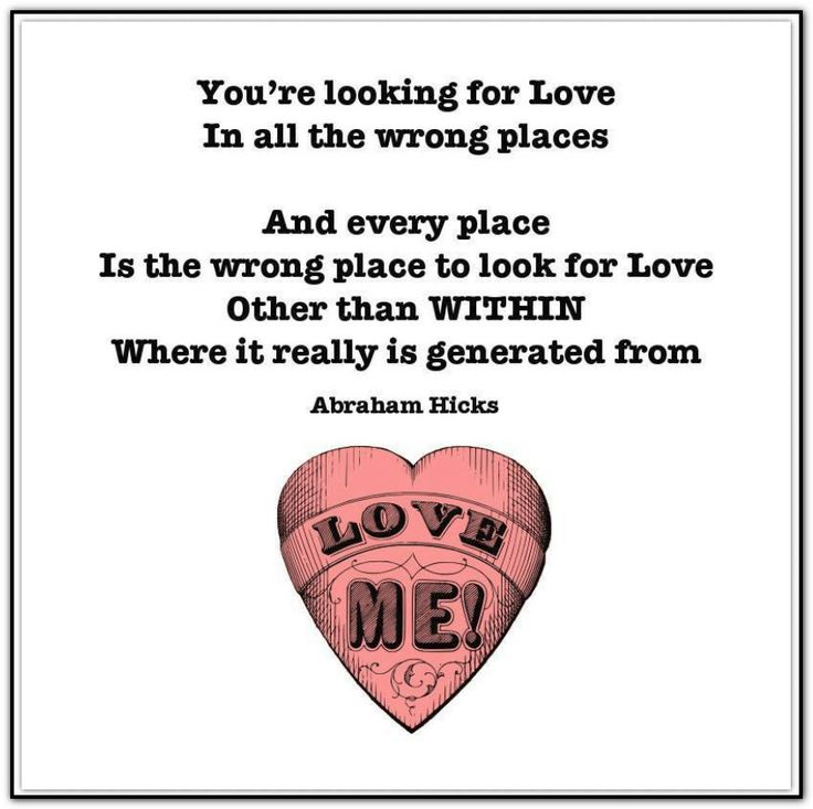 Looking for love in all