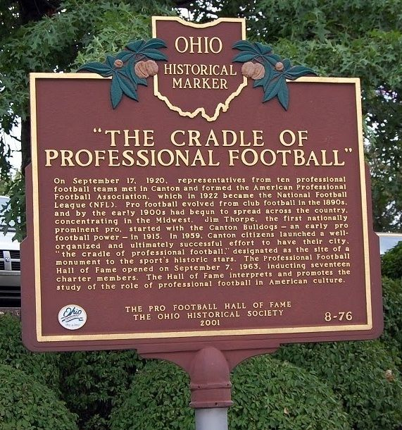 an introduction to the history of the national football league The nfl rookie transition program from all 32 teams are providing the same introduction to the league to the next national football league.