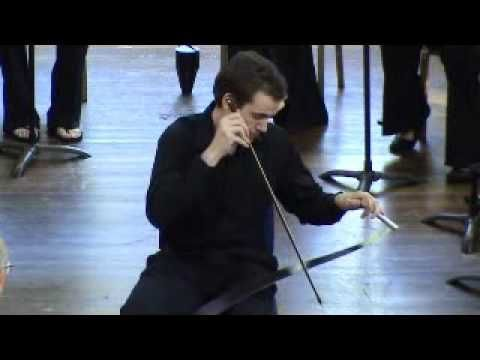 ▶ Austin Blackburn plays 'Ave Maria' on musical saw - YouTube