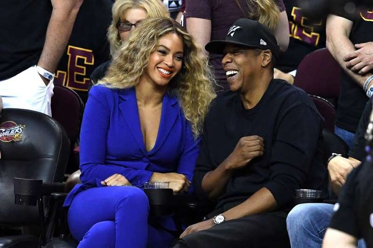 Celeb photos of the year 2016:   Beyonce and Jay Z attend Game 6 of the 2016 NBA Finals between the Cleveland Cavaliers and the Golden State Warriors at Quicken Loans Arena in Cleveland, Ohio, on June 16, 2016.