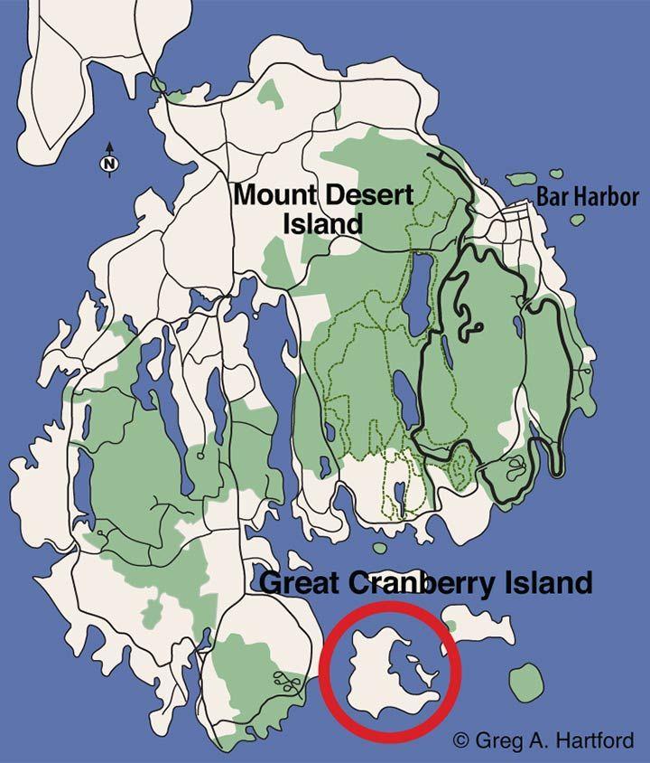 Great Cranberry Island Maine Acadia