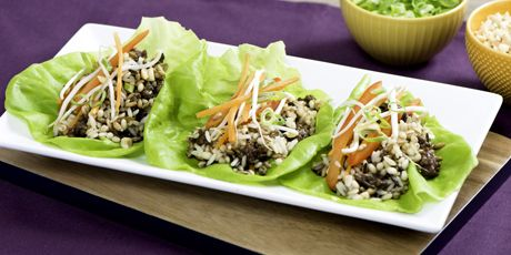 Asian Beef and 7 Grains Lettuce Wraps Recipes | Food Network Canada