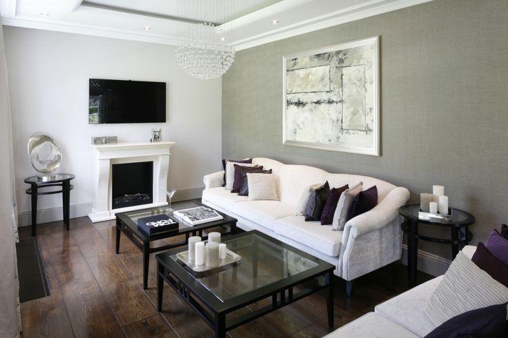 Szary salon: 20 pięknych wnętrz  - zdjęcie numer 10
