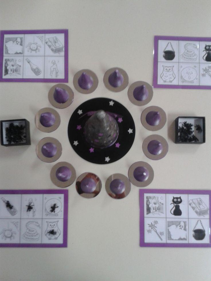 Rijmspel heksen - leuk idee voor andere spelletjes