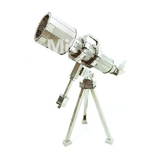 Metal In Korea Telescope Silver Color 3D Innometal Steel Metal Model kits #MetalInKorea3DInnoMetal