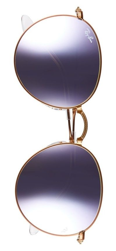 These eye-catching lilac sunnies add a retro touch to sunny days.