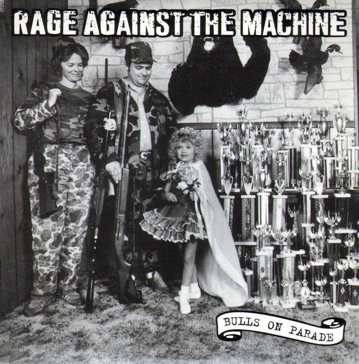 Rage Against The Machine - Bulls On Parade (single) [1441x1464]