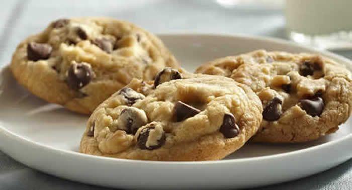 cookies pepites chocolat thermomix, un biscuit délicieux pour accompagner votre petit déjeuner ou votre goûter, un délice pour vos enfants, facile à preparer avec votre thermomix et cette recette.