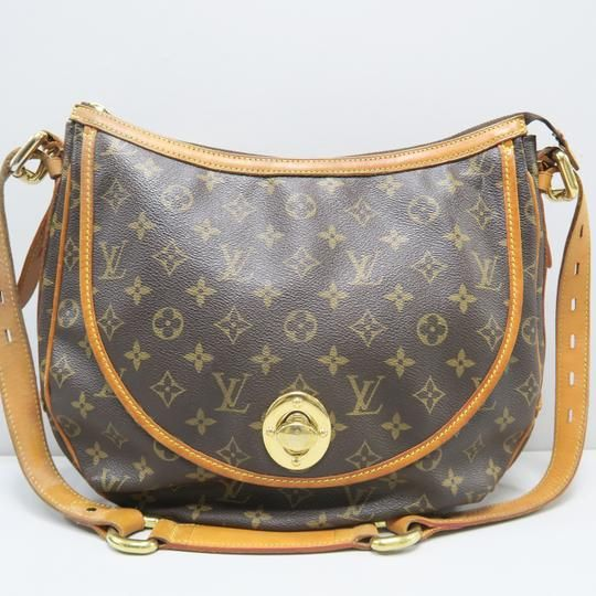 d311d2798925 Louis Vuitton Tulum Monogram Gm Brown Canvas Cross Body Bag - Tradesy