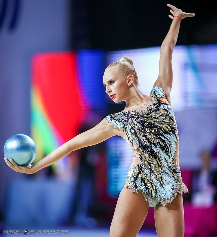 Yana Kudryavtseva (Russia) got 18.616 points for ball at Qualifications, Olympic Games 2016