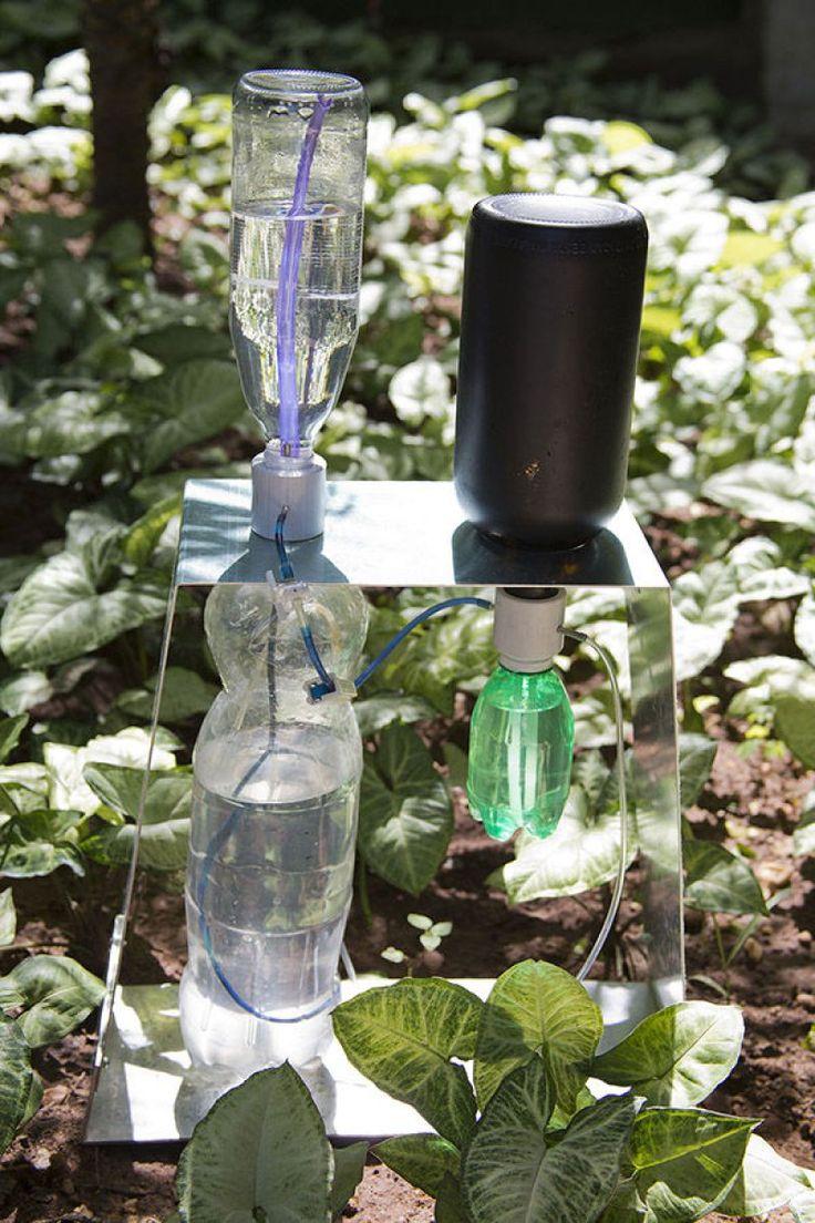 Riego por goteo solar con materiales reciclados - Taringa!