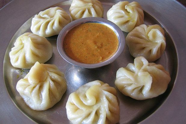 Momo dumplings are commonly found in the Himalayan region that borders ...
