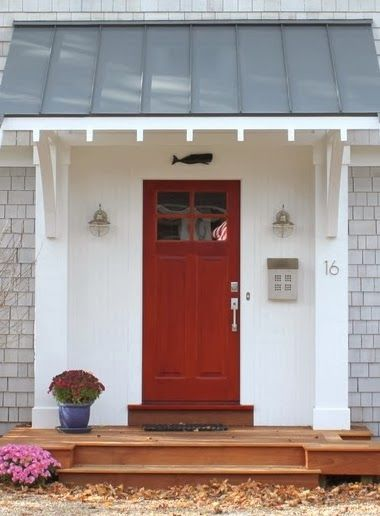 25 best ideas about front door porch on pinterest gable for Front door roof designs